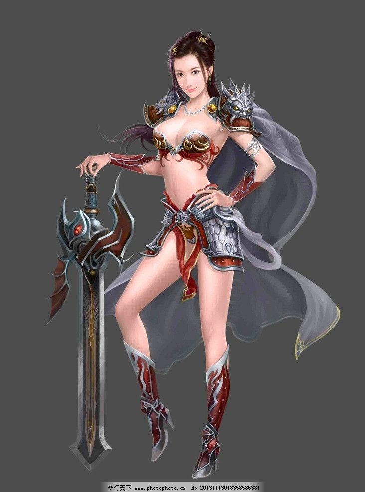 美女 手绘美女 游戏原画 手绘 游戏壁纸 游戏美女原画及壁纸 动漫人物