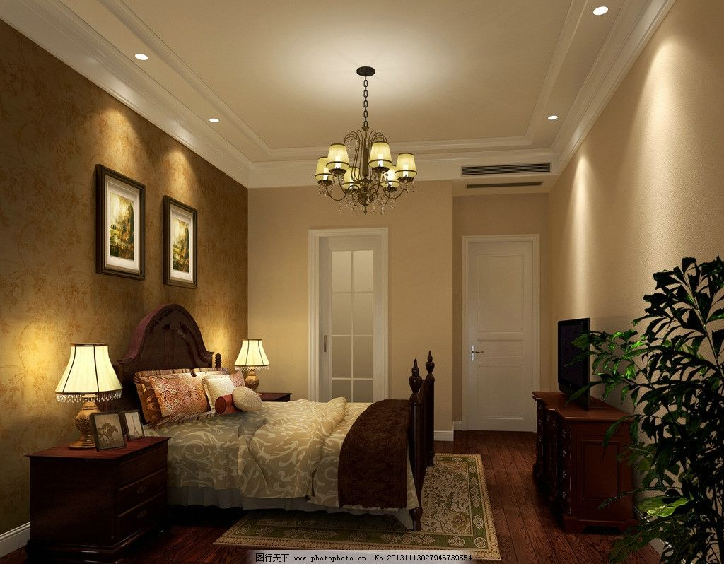 公寓卧室 公寓 公寓装修 公寓卧室装修 公寓装修风格 床铺 室内设计