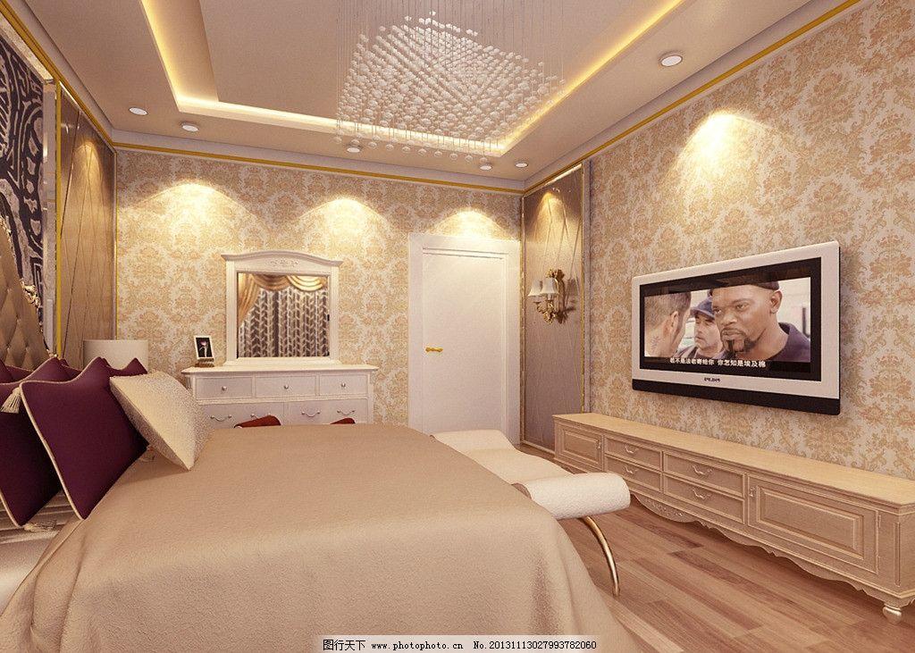 欧式次卧室图片