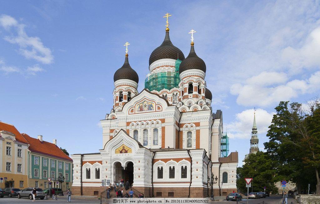 建筑 涅夫斯基教堂 西方 唯美 古典建筑 旅游 国外旅游 旅游摄影 摄影
