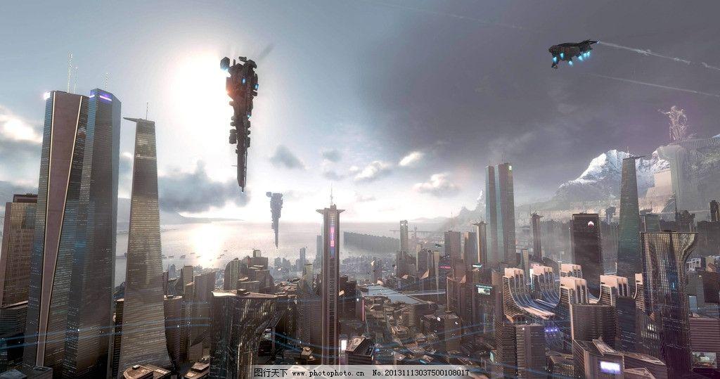 未来城市图片