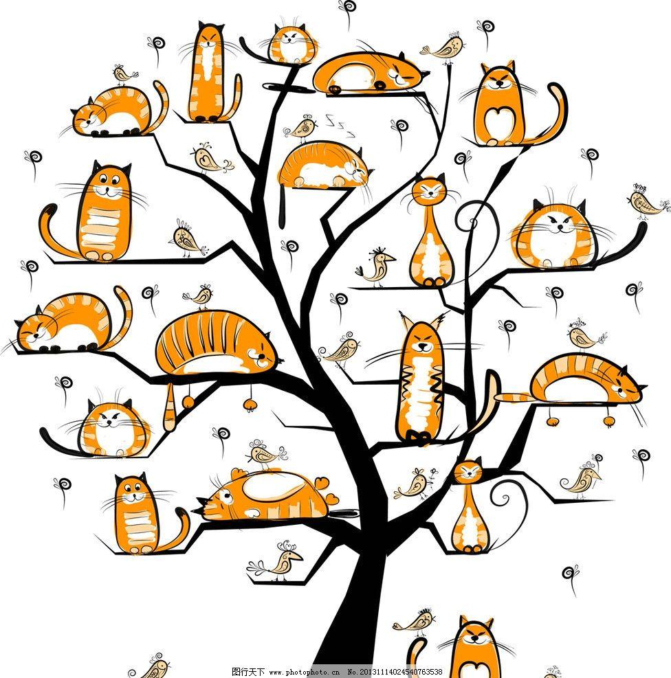 卡通手绘图片简单猫-手绘图片卡通简单女孩/手绘卡通猫/简单手绘图片