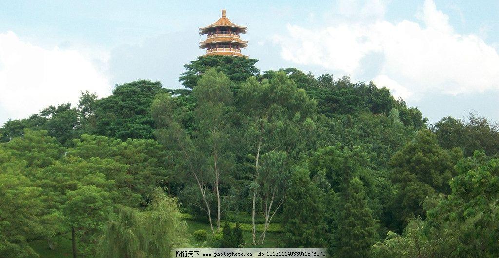 观澜公园宝塔图片