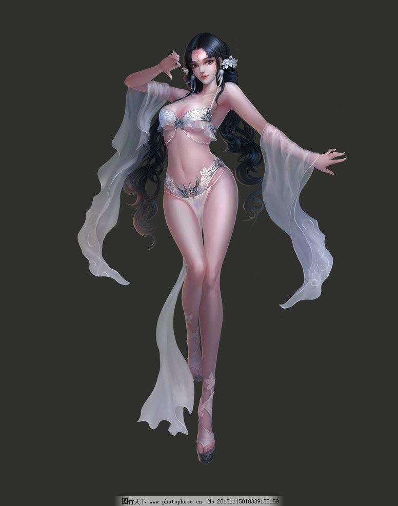 游戏人物 游戏 动漫人物 游戏原画 网游人物 美女 手绘美女 仙侠 人物