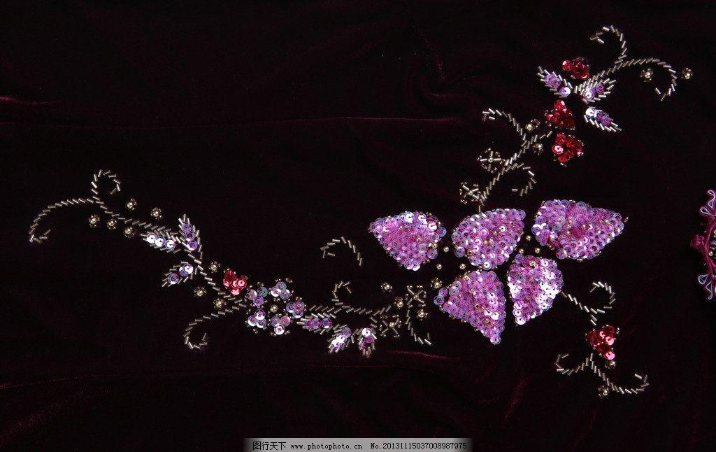 面料 面料图片素材下载 旗袍 旗袍花纹 服装 棉布 布料 布 绒布 棉绒
