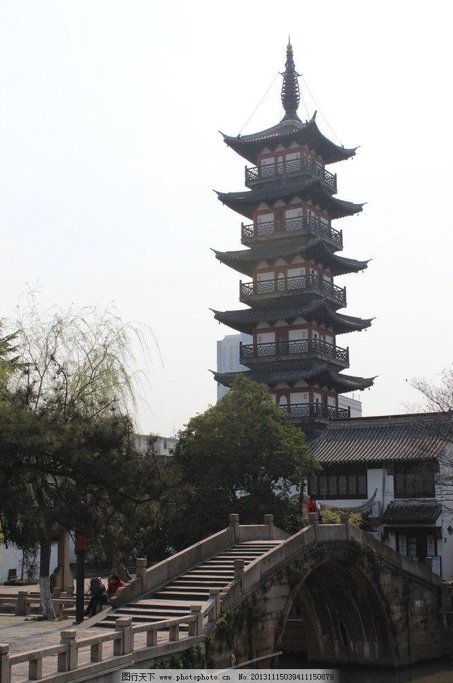 七层塔 嘉定老街 有历史