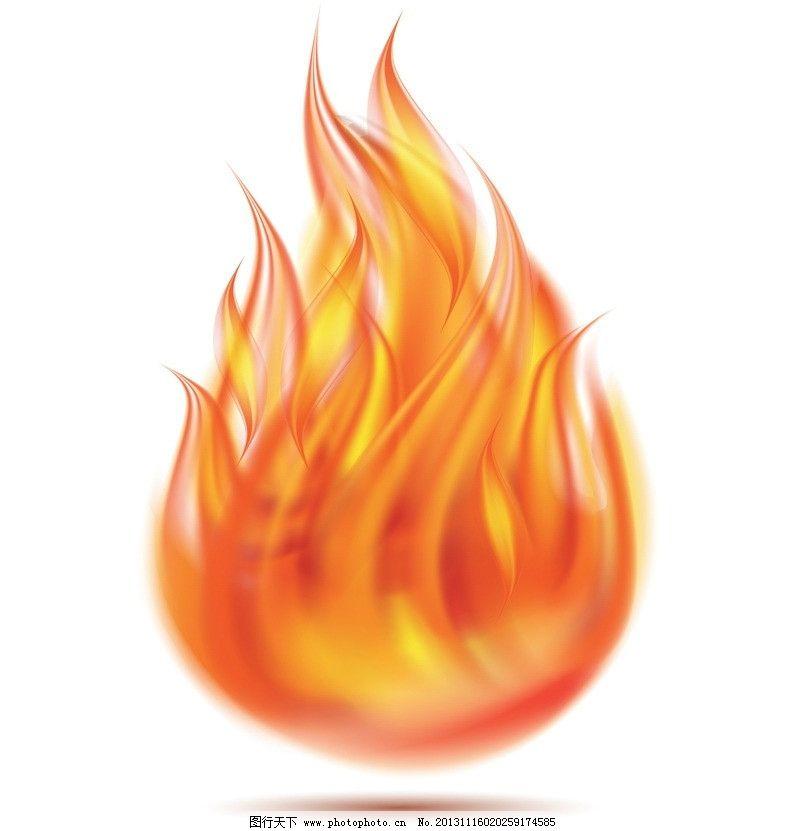 矢量 火焰背景