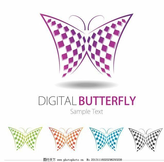 蝴蝶设计 蝴蝶 可爱 装饰 设计 矢量 蝴蝶花纹矢量 底纹背景 底纹边框