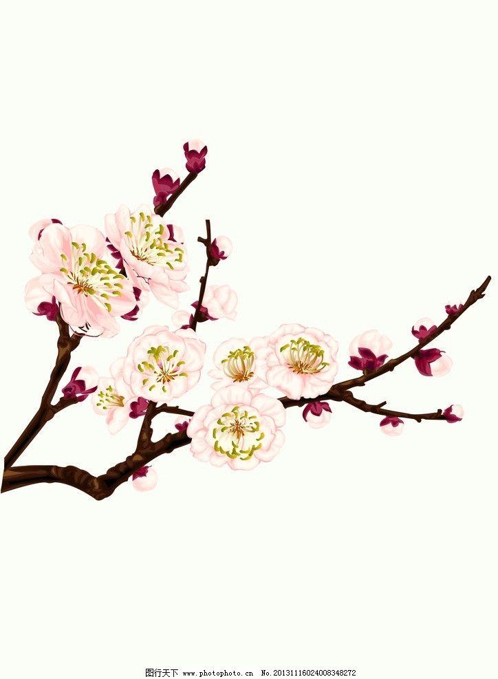古风桃花的画法步骤