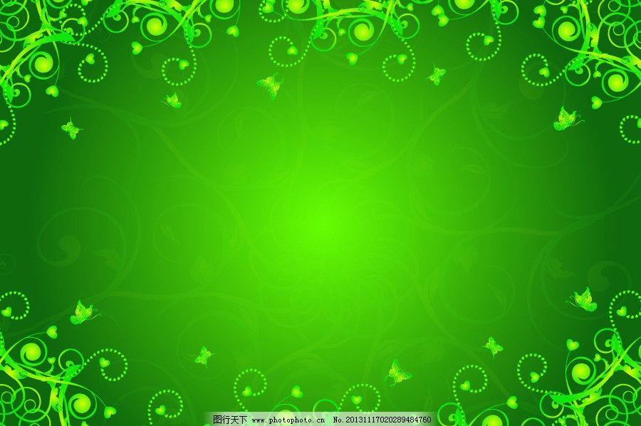 金绿色欧式壁纸贴图