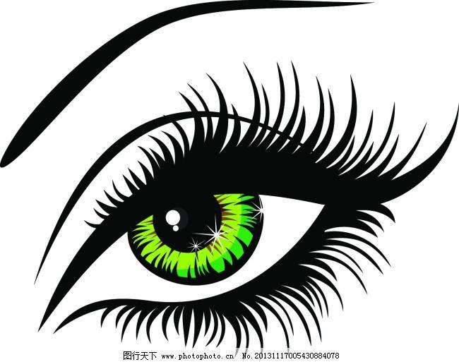 卡通眼睛 矢量图 五官 矢量图 卡通眼睛 五官 矢量人物