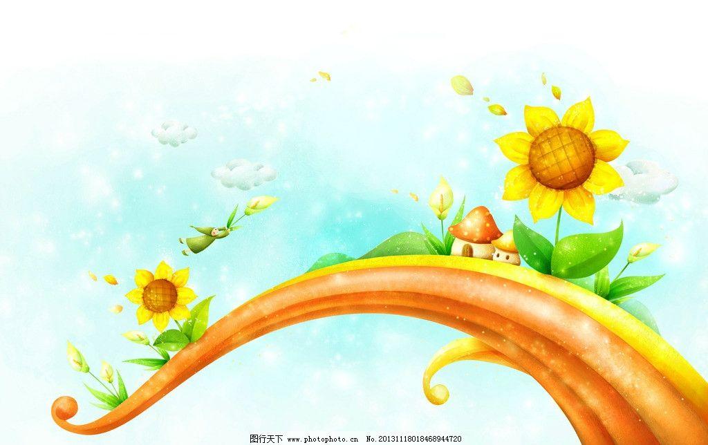 童话绘画图片图片