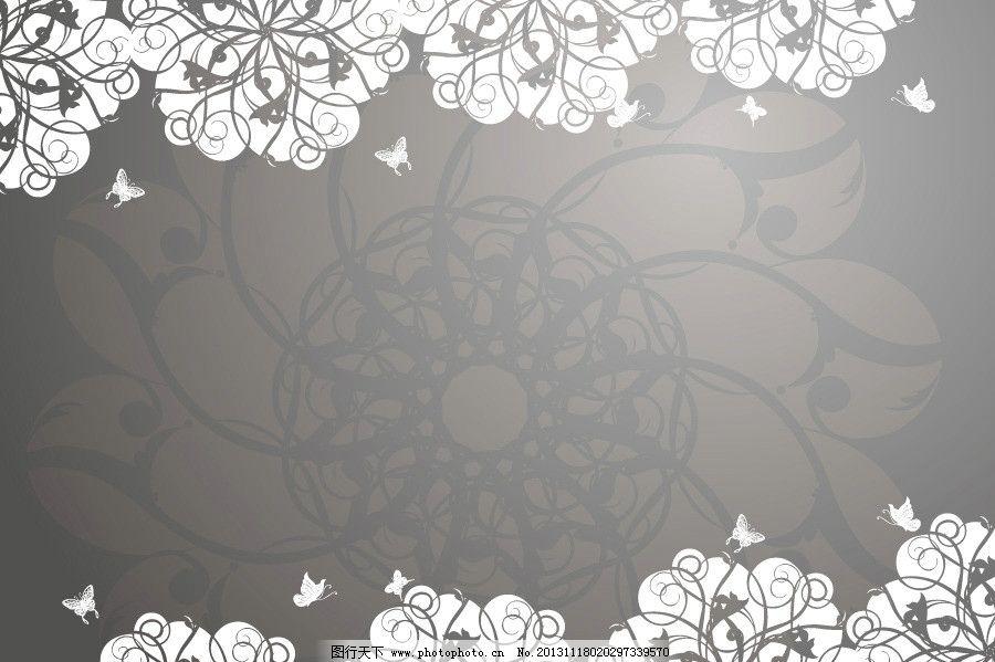 灰色展板背景图片