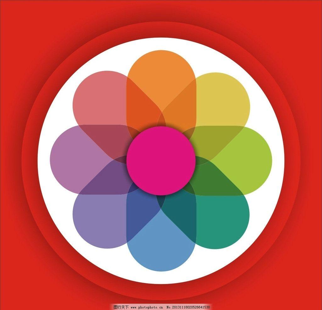花瓣 花纹 图案 背景 边框 圆圈 素材 底纹 底纹边框 条纹线条 矢量 c