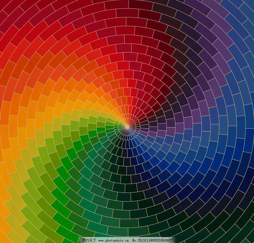 动感旋转扇形圆形 动感 线条 扇形 圆形 旋转 转动 曲线 弯曲 炫彩