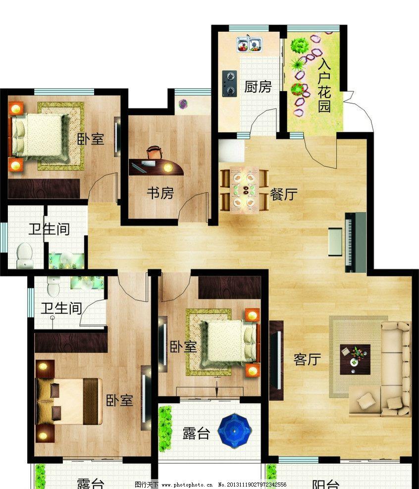 矢量图 设计 户型图 素材 房地产 欧式风格 地中海 室内设计 建筑家居
