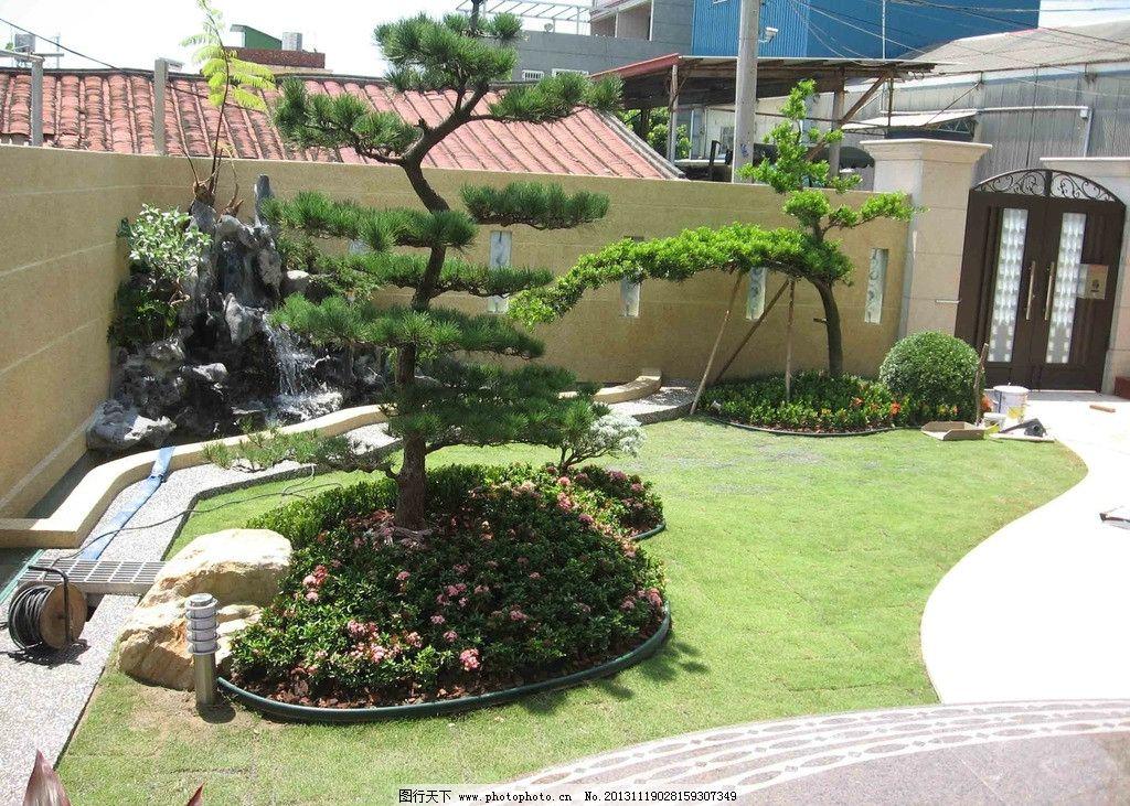 景观设计 庭园景观规划设计施工 庭园设计 庭园景观设计 草坪 草