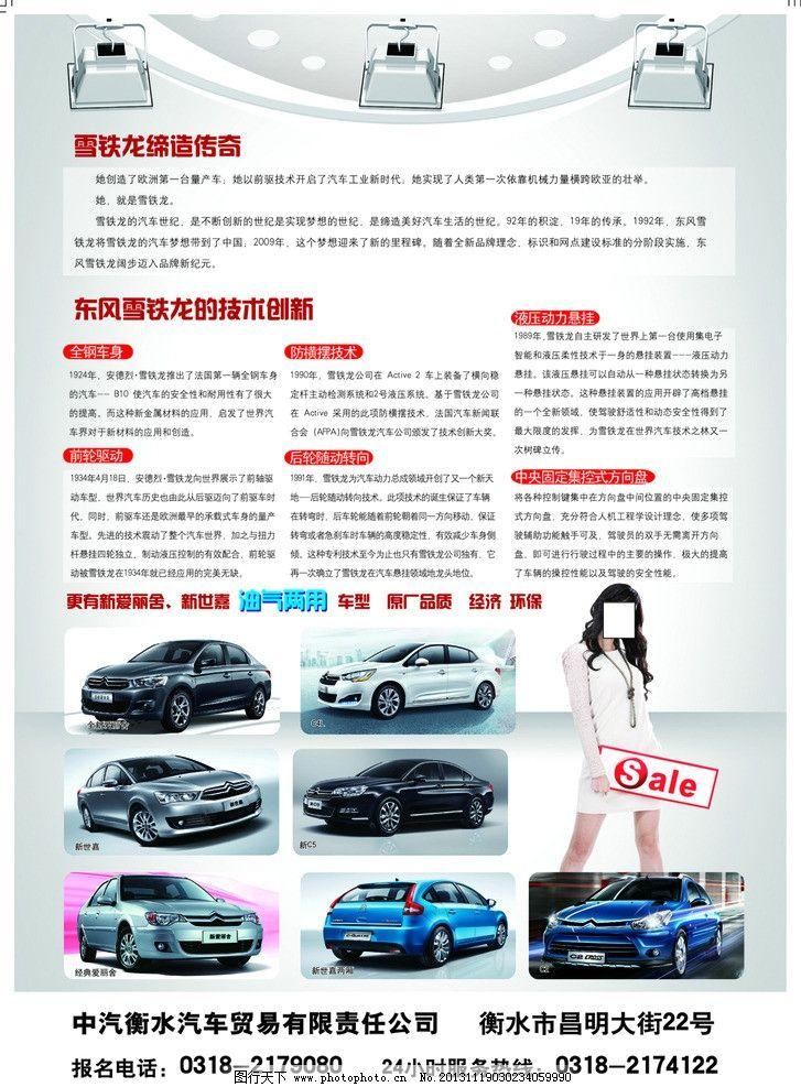东风雪铁龙dm宣传单图片