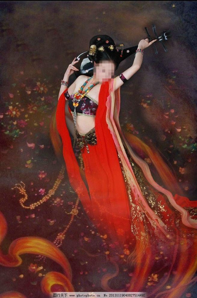 反弹琵琶 美女 古装美女 古典美女 古装 飞天 艺术照 人物写真 人物