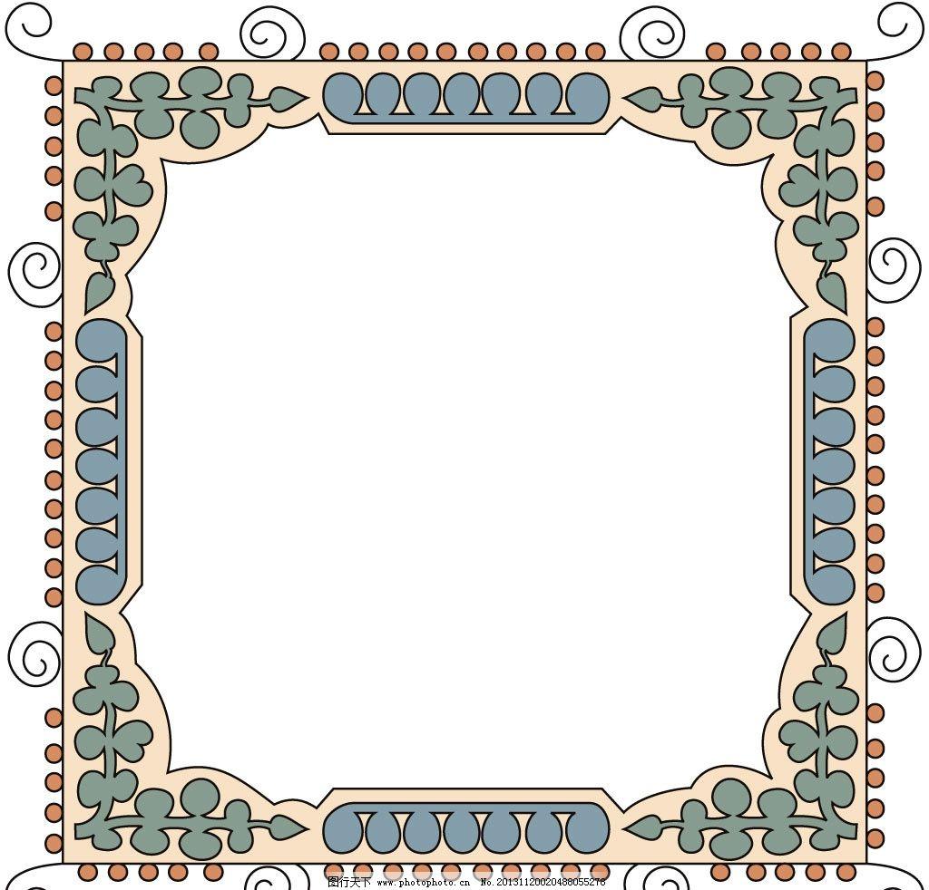 相框花纹 相框 背景 素材 设计 欧洲风 边框相框 底纹边框 72dpi jpg