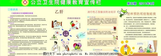 乙肝疾病预防知识图片,健康教育宣传栏 昆虫 疟