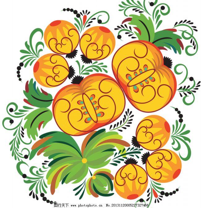 手绘花纹模板下载 手绘花纹 精美花纹 手绘花朵 移门花纹 欧式花纹 古