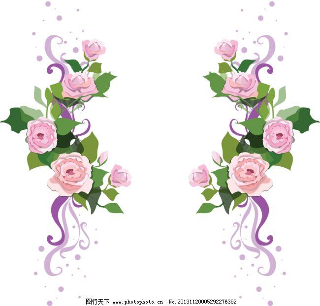 手绘花纹 相框 画框 花环 蝴蝶边框 精美边框 手绘花朵 欧式边框 腰线