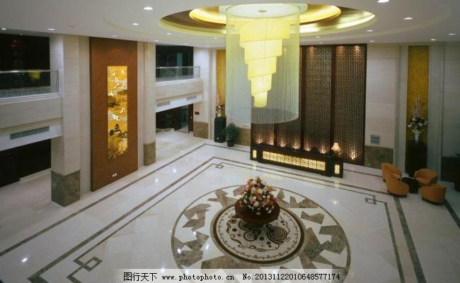 水晶灯 欧式吊灯 饭店 格栅 隔断 中式酒店 室内摄影 建筑园林 摄影 1