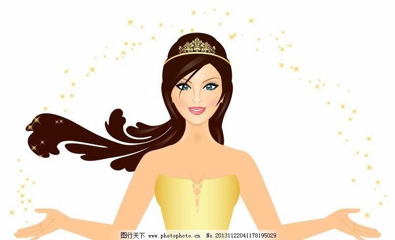 美女肖像 秀发 美发 头发 美女头像 女孩头像 女孩肖像 形象