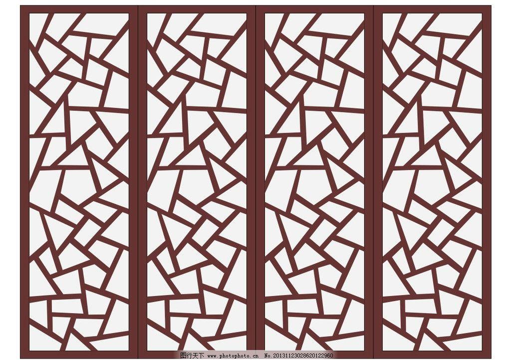 木质窗户花纹 中式橱窗