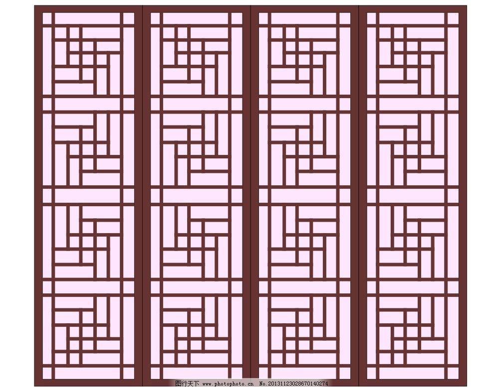 中式花纹 中式 花纹 纹路 底纹 纹理 背景 中式窗户 中式木门 木质