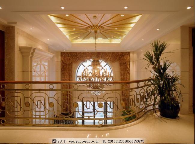上海华府复式 别墅 窗户 窗帘 瓷砖 大理石 大堂 大厅 吊灯图片