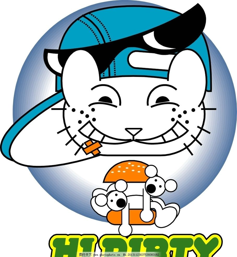 猫咪图片,小猫 卡通猫 老鼠 卡通印花 动物印花 儿童
