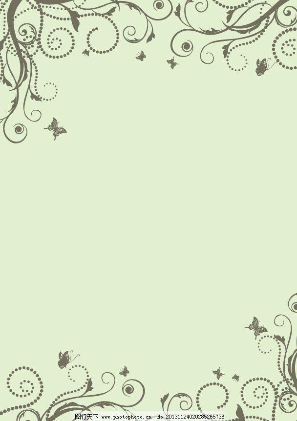 花藤 花枝 枝叶 欧式底纹 藤蔓 枝条 背景底纹 底纹背景 花纹 简单图片