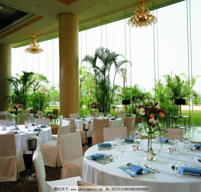 欧式设计 宴会厅 酒店设计 五星级酒店 水晶灯 香格里拉酒店 背景墙