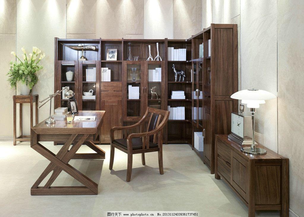 中式实木家具图片