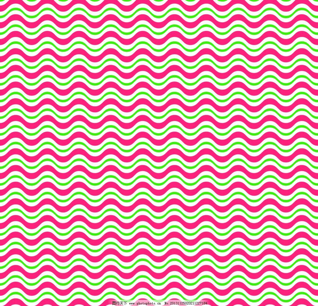 波浪条纹背景图片