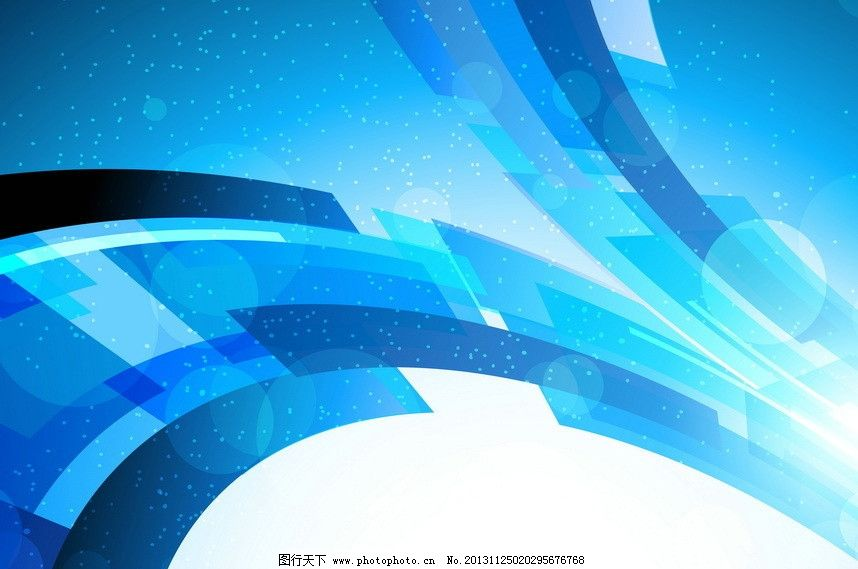 底纹边框 背景底纹  蓝色动感线条 动感 蓝色 线条 光线 圆点 无规则
