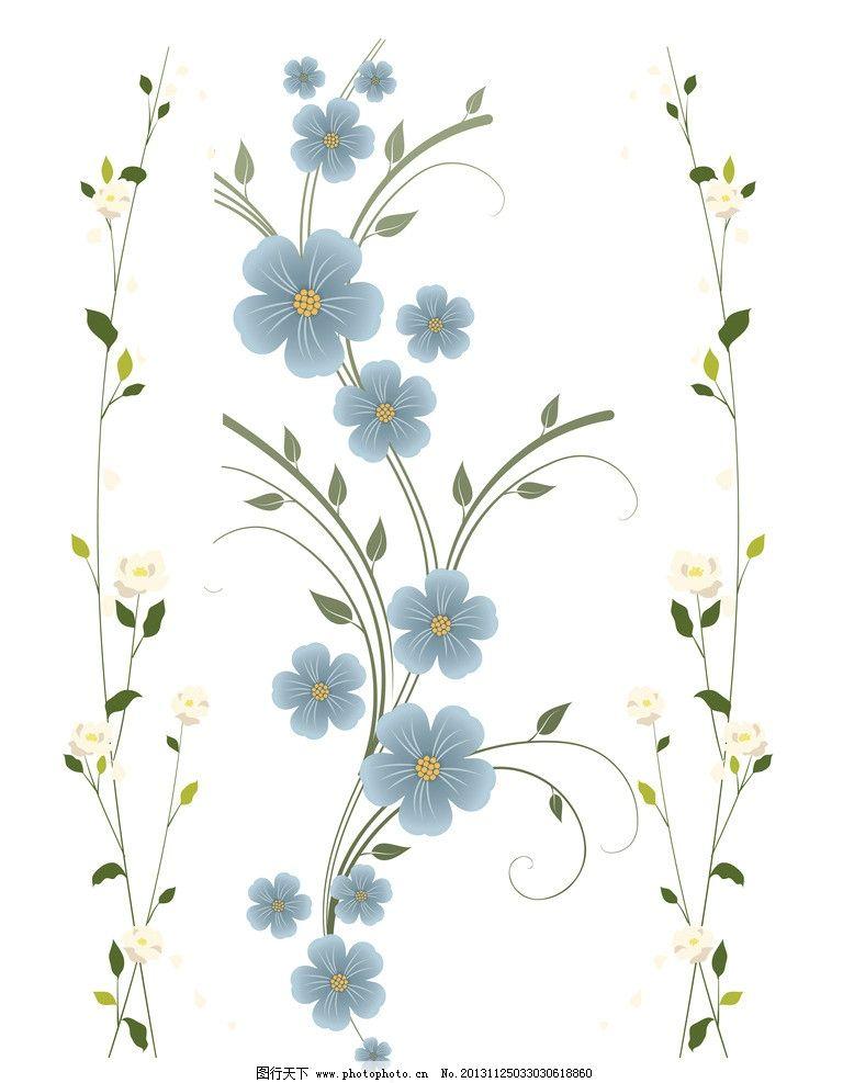 花纹边框 花朵边框 花藤边框 边角框 手绘花纹 文本框 文字框 花纹