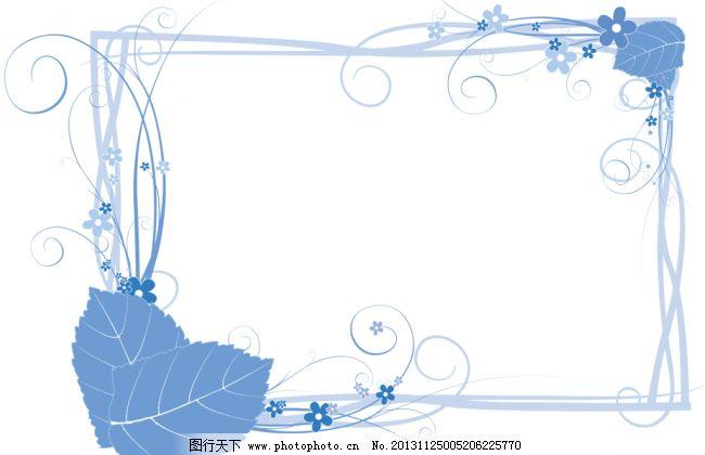 韩国手绘简单边框