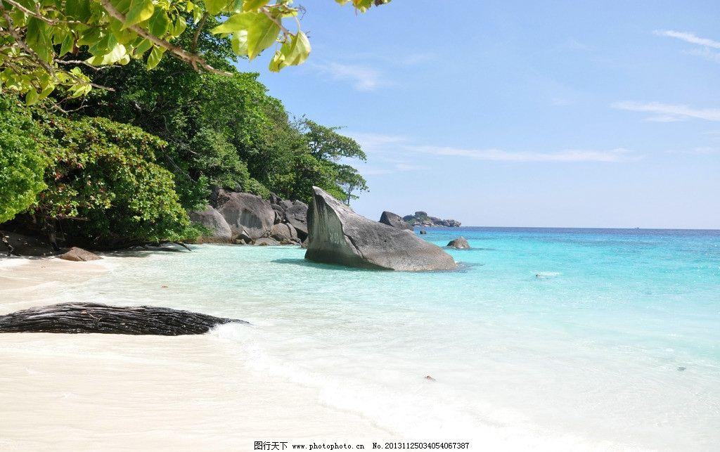 泰国斯米兰岛海滩图片