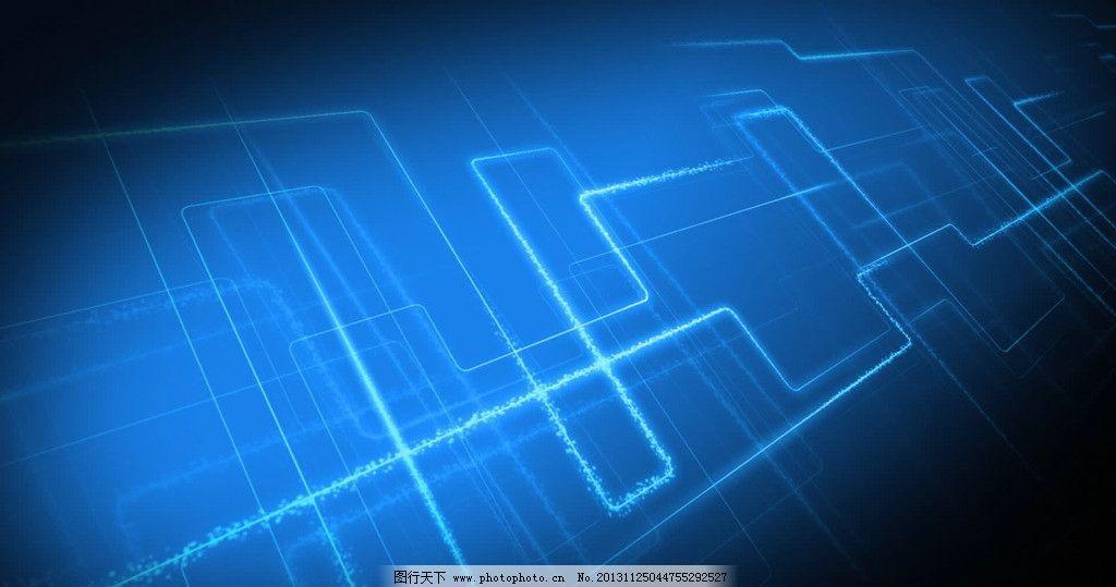 科技感 电路板线条