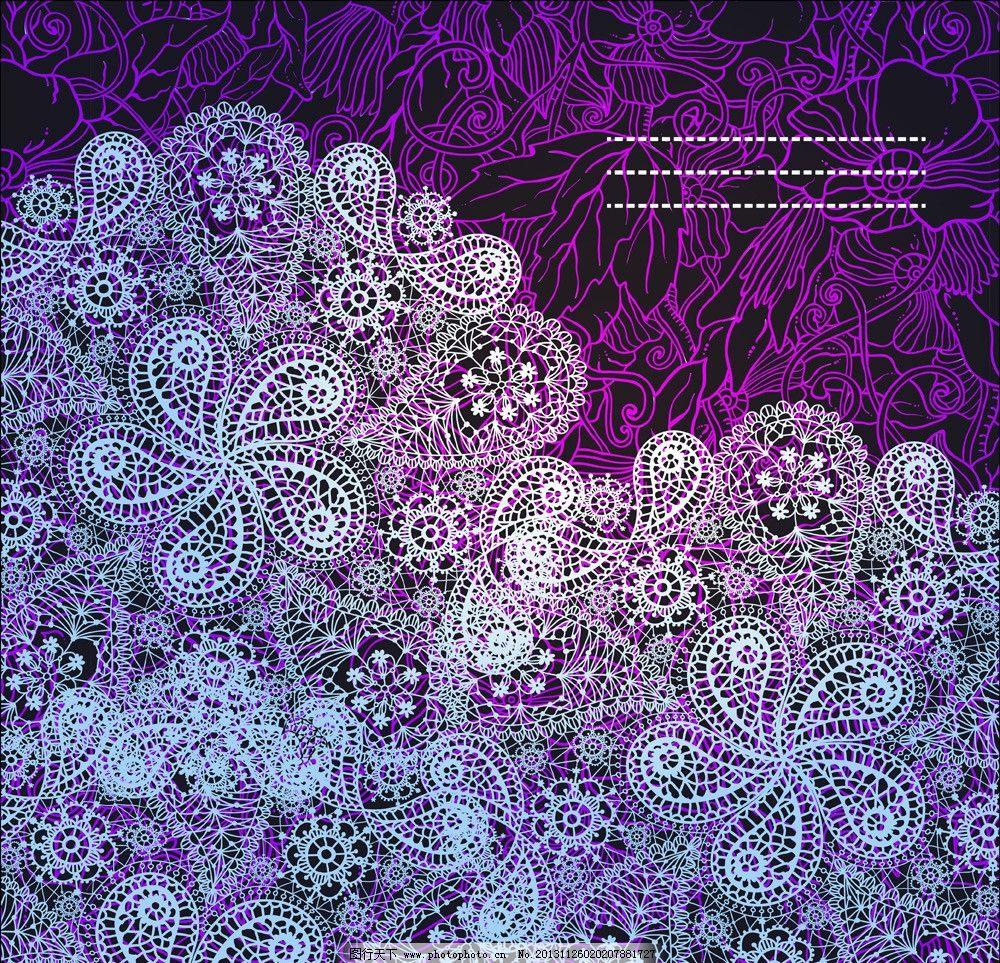 欧式花纹 民族装饰花纹