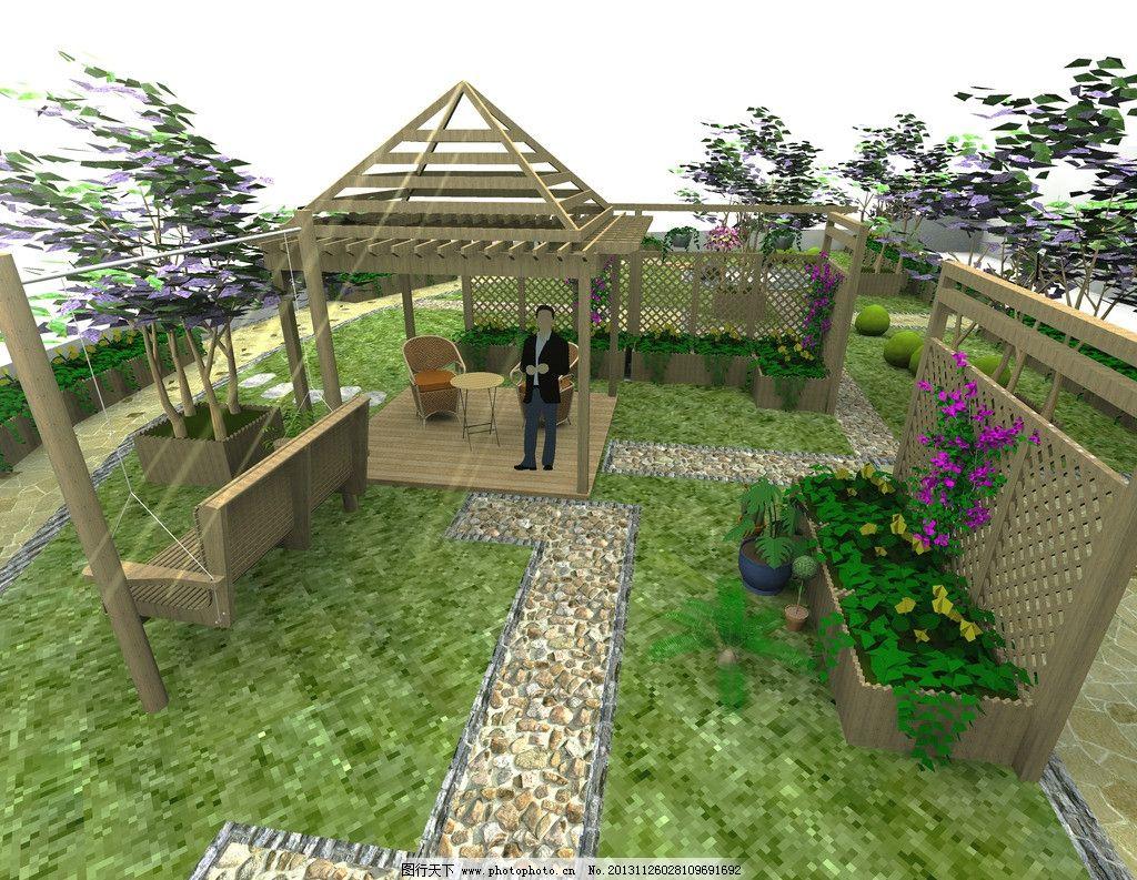 屋顶花园 景观 环境 庭院 家装
