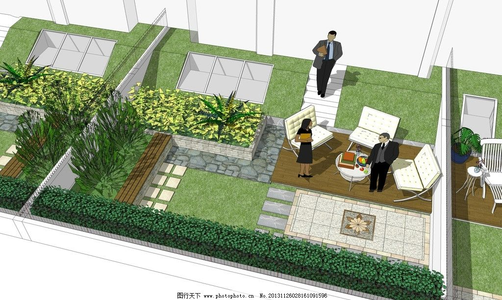 庭院设计图片