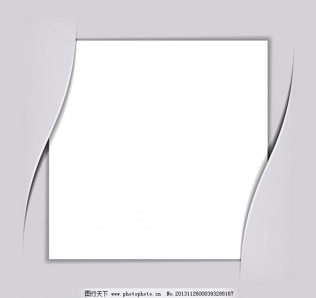 相册 相框 空白相册矢量素材