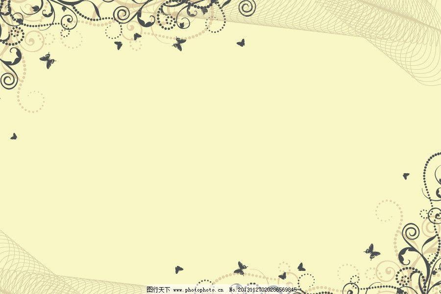 花边 欧式花边 淡雅背景 欧式 素雅背景 时尚花纹 清雅背景 素雅底纹图片