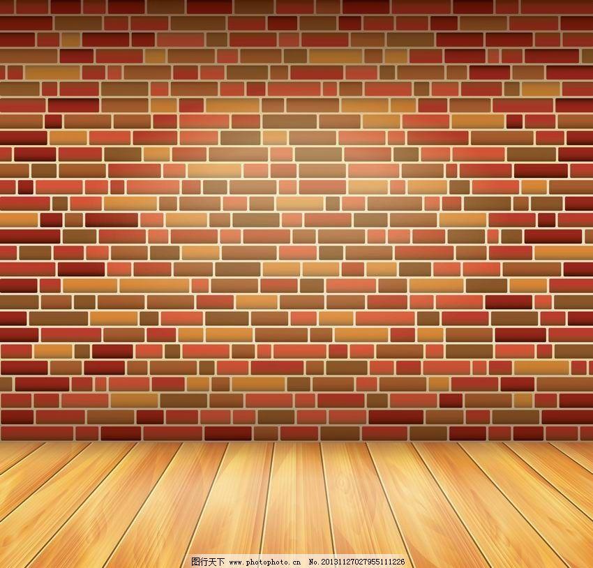 木地板墙壁 木纹 木板 木地板 墙壁 手绘 背景 矢量 室内设计矢量