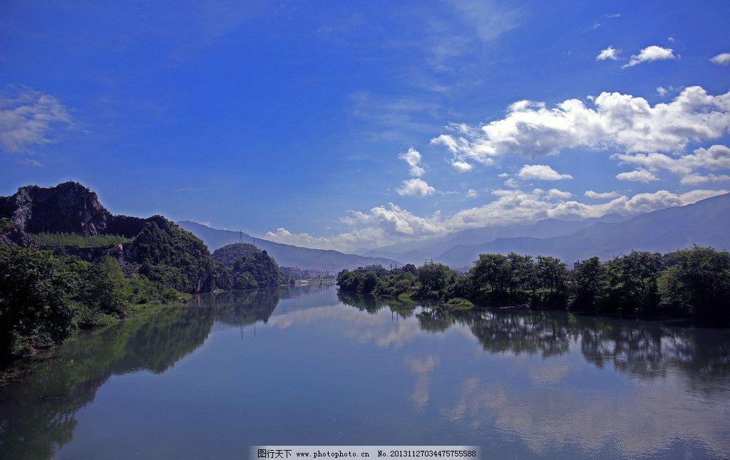 古八景 灌阳 自然 风光 王楼晚渡 山水风景 自然景观 摄影 72dpi jpg