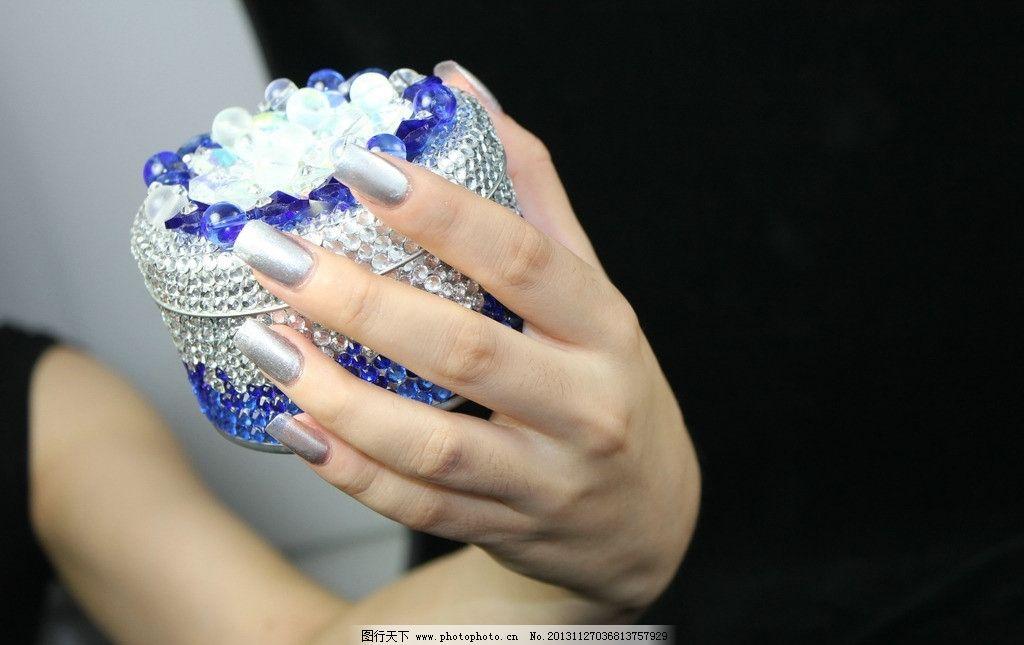时尚美甲手模 手部 手模 美甲 水晶甲 指甲 美容美妆美发造型 其他
